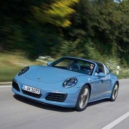 Дебют великолепного 911 Targa 4S Exclusive Design Edition