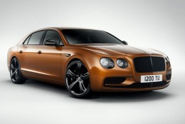 W12 Flying Spur S: самый быстрый четырехдверный Bentley