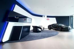 Европейский шоурум Bugatti