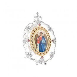 Икона из хрусталя Владимир