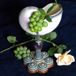 Кубок Наутилус с эмалью