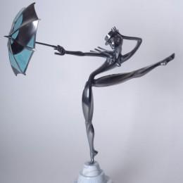 Танцовщица бурлеска (бронза, h=36 см)