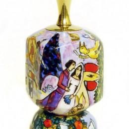 Волчок. Мотивы М.Шагала Обрученные у башни в Париже