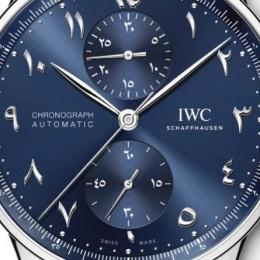 Бутик IWC Schaffhausen выпустил уникальные часы Portugieser