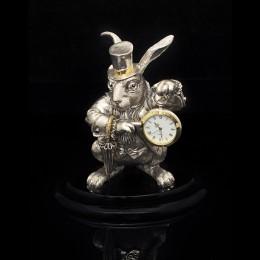 Часы-кролик Время пить чай