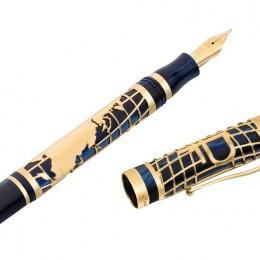 Ручка перьевая Рубль (Перо F)