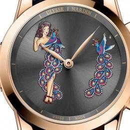 Ulysse Nardin представила хронометр с гламурным оформлением