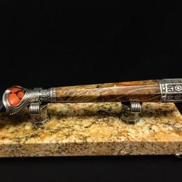 Мрамор и дерево станок для бритья