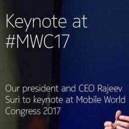 Открытие выставки мобильных технологий MWC 2017