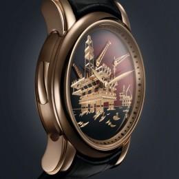 Дань «черному золоту»: часы с репетитором от Ulysse Nardin