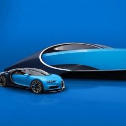 Bugatti создает яхту на основе Chiron, и ее нужно видеть