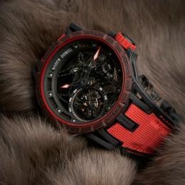 Часы Roger Dubuis – Excalibur Spider Carbon ограниченного издания