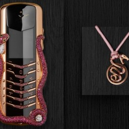 Vertu и Boucheron создают телефон с рубинами за 360 000 $
