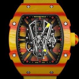 Новые часы Рафаэля Надаля от Richard Mille ломают границы инноваций