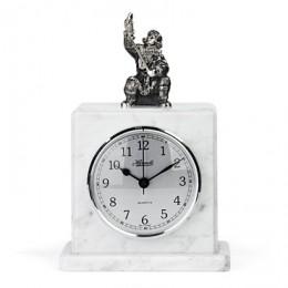 Каминные часы «Зимняя рыбалка»