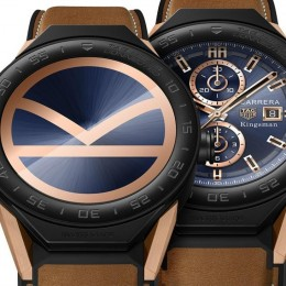 TAG Heuer выпустит часы Connected Modular 45 Kingsman Special Edition