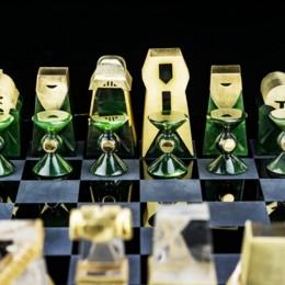 Шахматы ручной работы по теме «Звездных войн»