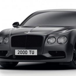Bentley Flying Spur перешел на темную сторону в версии Dark Edition