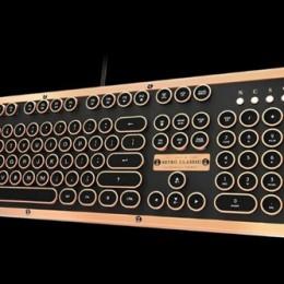 Ретро клавиатура для любителей превосходного дизайна