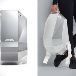 Алюминиевый рюкзак Solid Gray