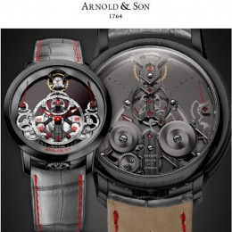Часы Arnold & Son Time Pyramid для аукциона Only Watch 2017