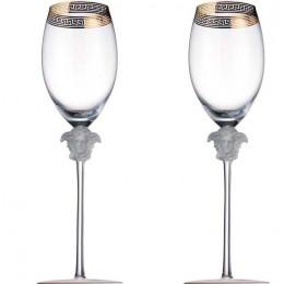 Набор бокалов для шампанского VERSACE