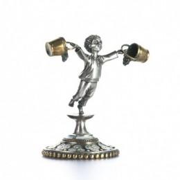 Статуэтка из серебра Водолей