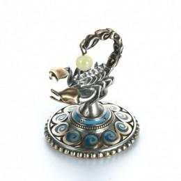 Статуэтка из серебра Скорпион