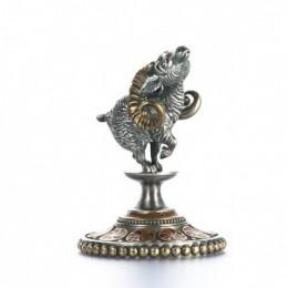 Статуэтка из серебра Овен
