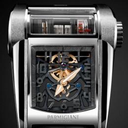 Parmigiani создали эксклюзивные часы, вдохновленные Bugatti Chiron