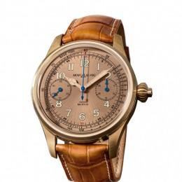 Торжество винтажного стиля— часы Montblanc 1858 Chronograph Tachymeter Limited Edition 100