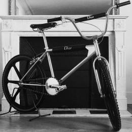 BMX велосипед от Dior