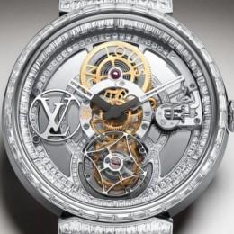 Новейшие часы от Louis Vuitton украшены 296 бриллиантами