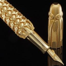 Первая в мире золотая ручка, напечатанная на 3D принтере
