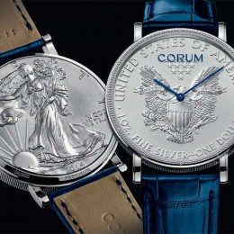 Часы-монеты от Corum