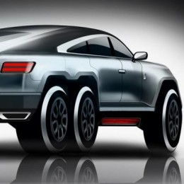 6-колесный зверь на основе Rolls-Royce Wraith – ваш лучший «паркетник»