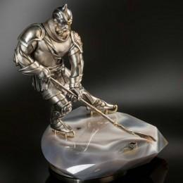 Хоккеист из серебра