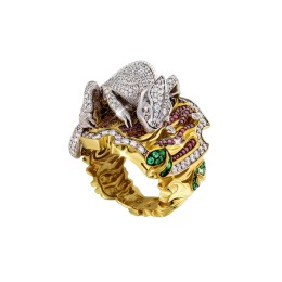 Кольцо «Хамелеон» (бриллианты 3,25 ct)