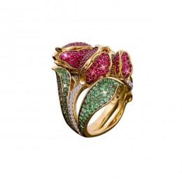 Кольцо «Тюльпаны»