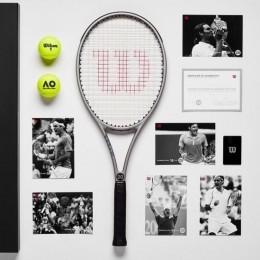 Wilson выпустил платиновую ракетку в честь Роджера Федерера