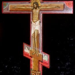 Икона в виде креста