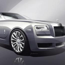 Серебряный Rolls Royce