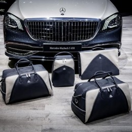 Чемоданы и сумки от Mercedes для их нового Mercedes-Maybach S650