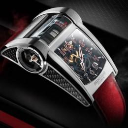 Parmigiani Fleurier выпустил особые часы в честь выхода Bugatti Chiron Sport