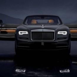 Rolls Royce сделал Wraith еще эксклюзивнее в ограниченной коллекции Luminar