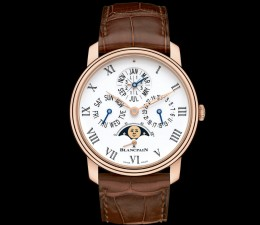 Blancpain Villeret Quantieme Perpetual 8 Days Automatic Mens Watch
