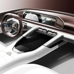 Концепт салона нового Mercedes-Maybach SU