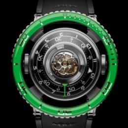 Часы HM 7 Aquapod от MB&F, вдохновленные морской глубиной