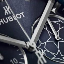 Hublot представили новые часы для Лиги Чемпионов