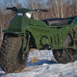 Русский складной мотоцикл для любых целей